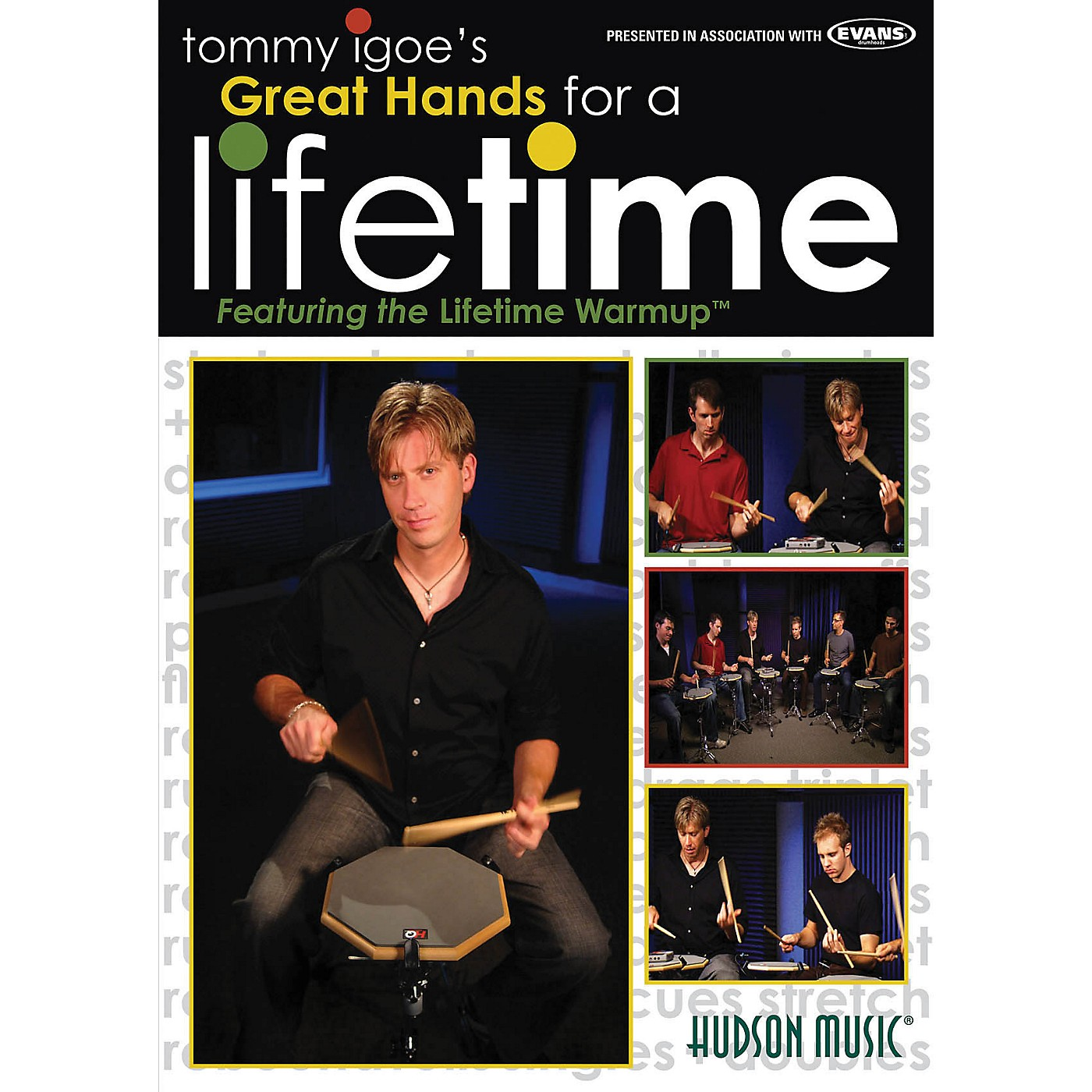 Hudson Music Tommy Igoe's Great Hands for a Lifetime DVD thumbnail