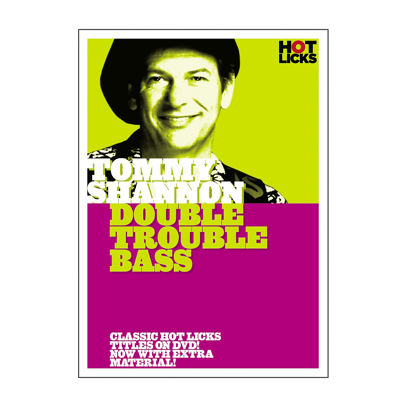 Hot Licks Tommy Shannon: Double Trouble Bass DVD thumbnail