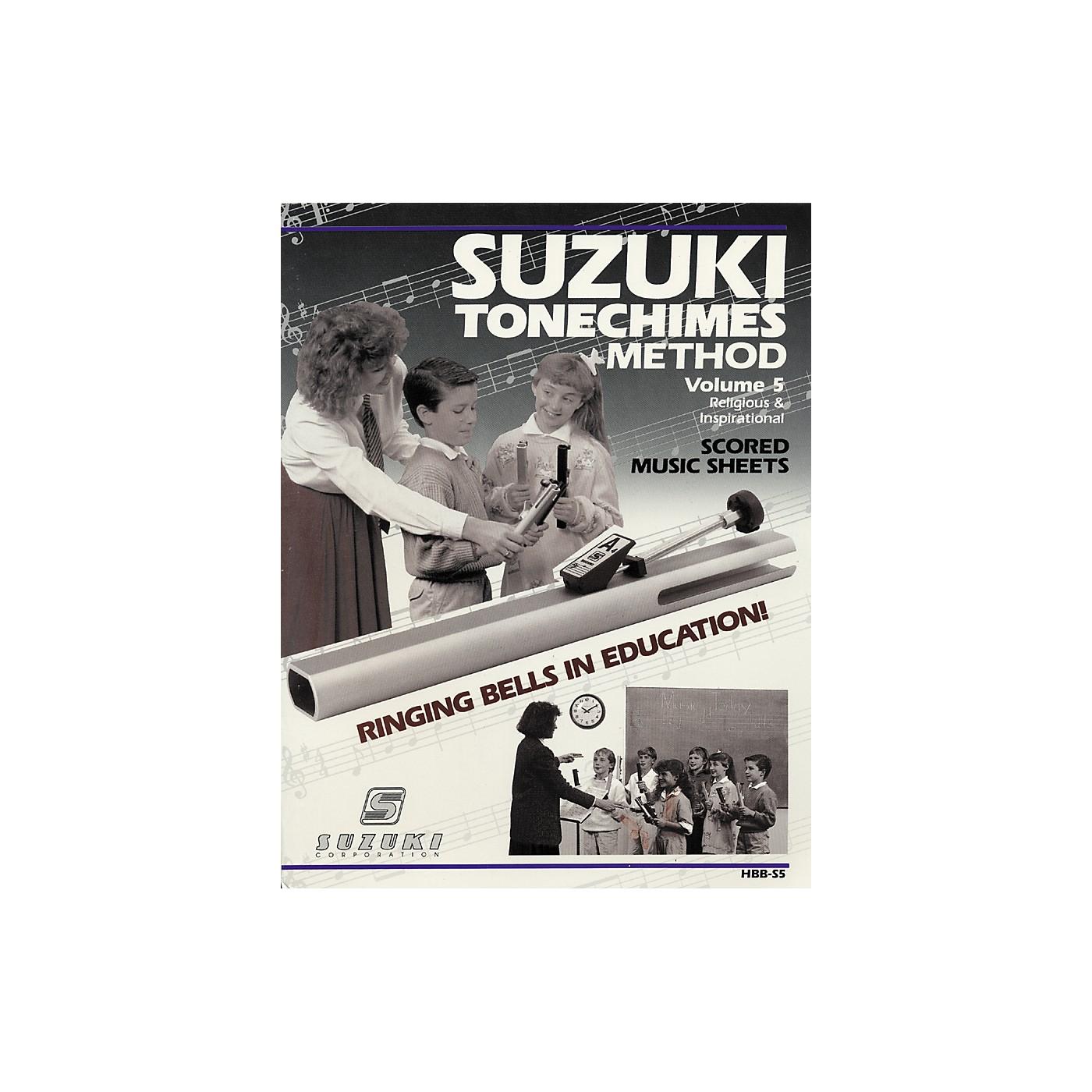 Suzuki Tone Chimes Volume 5 Religious and Inspirational thumbnail