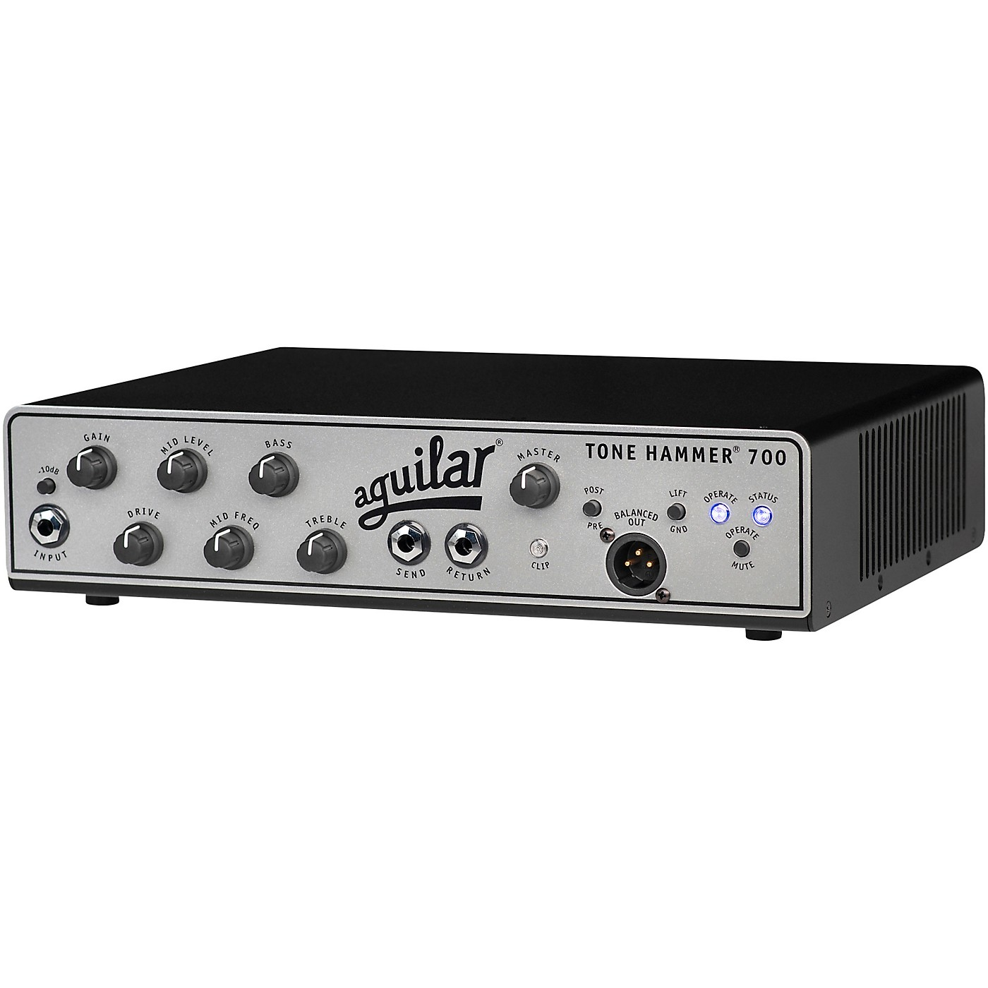 Aguilar Tone Hammer 700 700W Bass Amp Head thumbnail