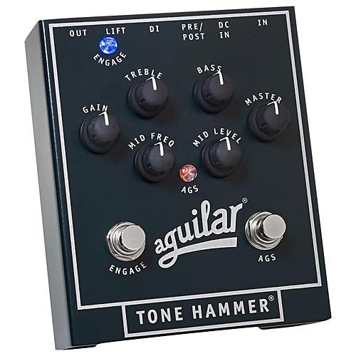 Aguilar Tone Hammer Preamp / Direct Box Bass Pedal thumbnail