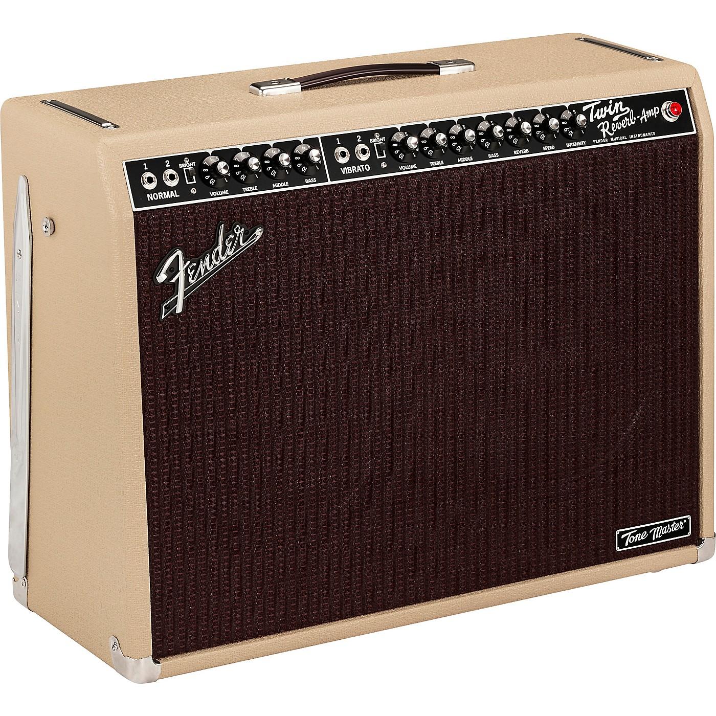 Fender Tone Master Twin Reverb 100W 2x12 Celestion NEO Creamback Amplifier thumbnail