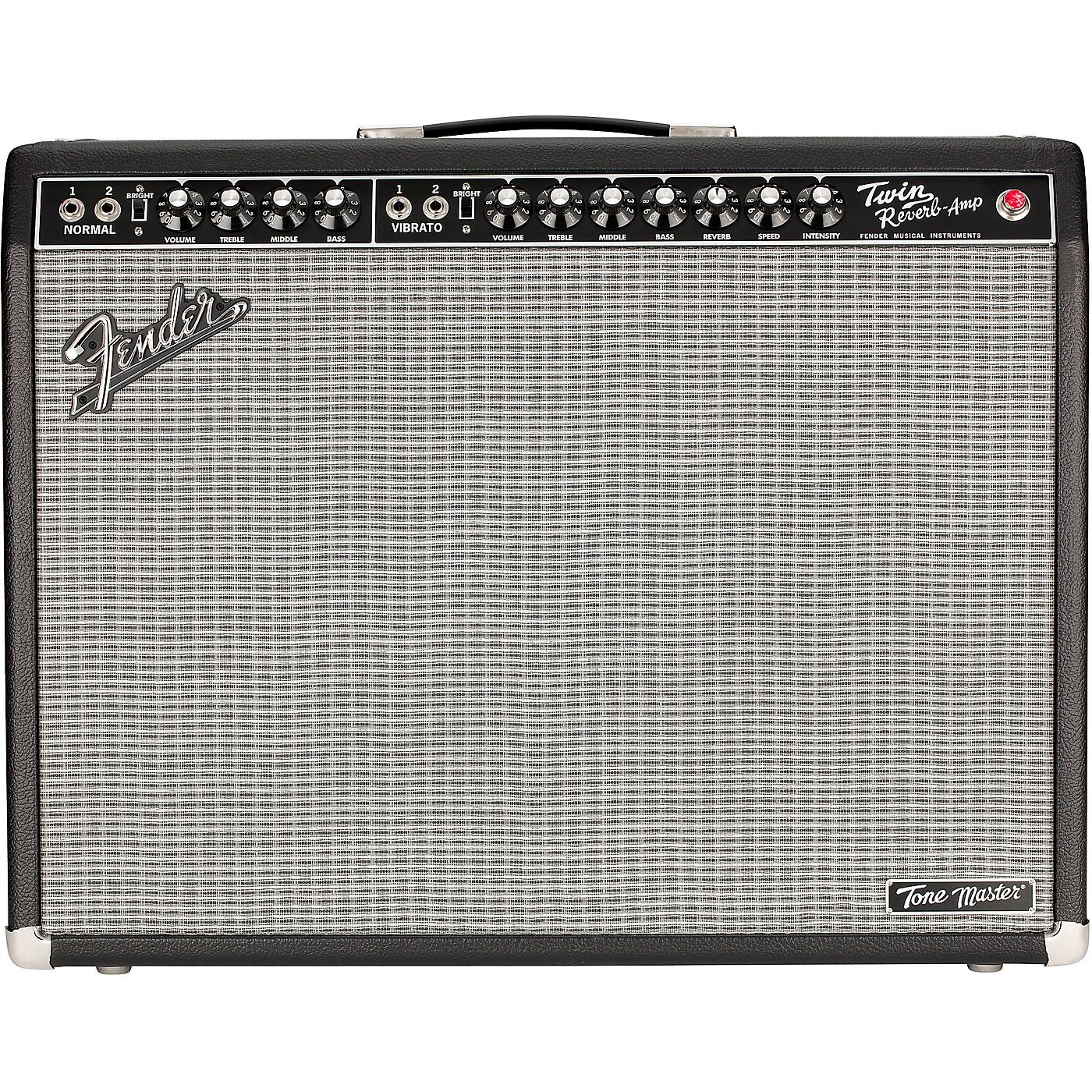 Fender Tone Master Twin Reverb 200W 2x12 Guitar Combo Amp thumbnail
