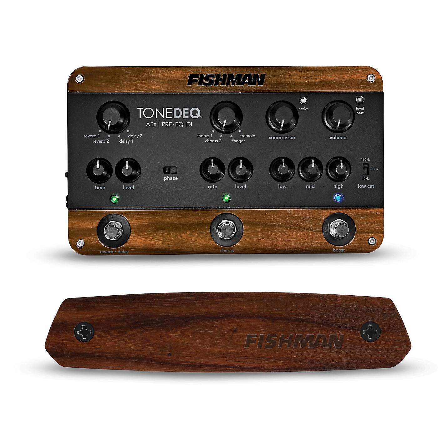 Fishman ToneDEQ Preamp EQ and Neo-D Passive Soundhole Guitar Pickup thumbnail