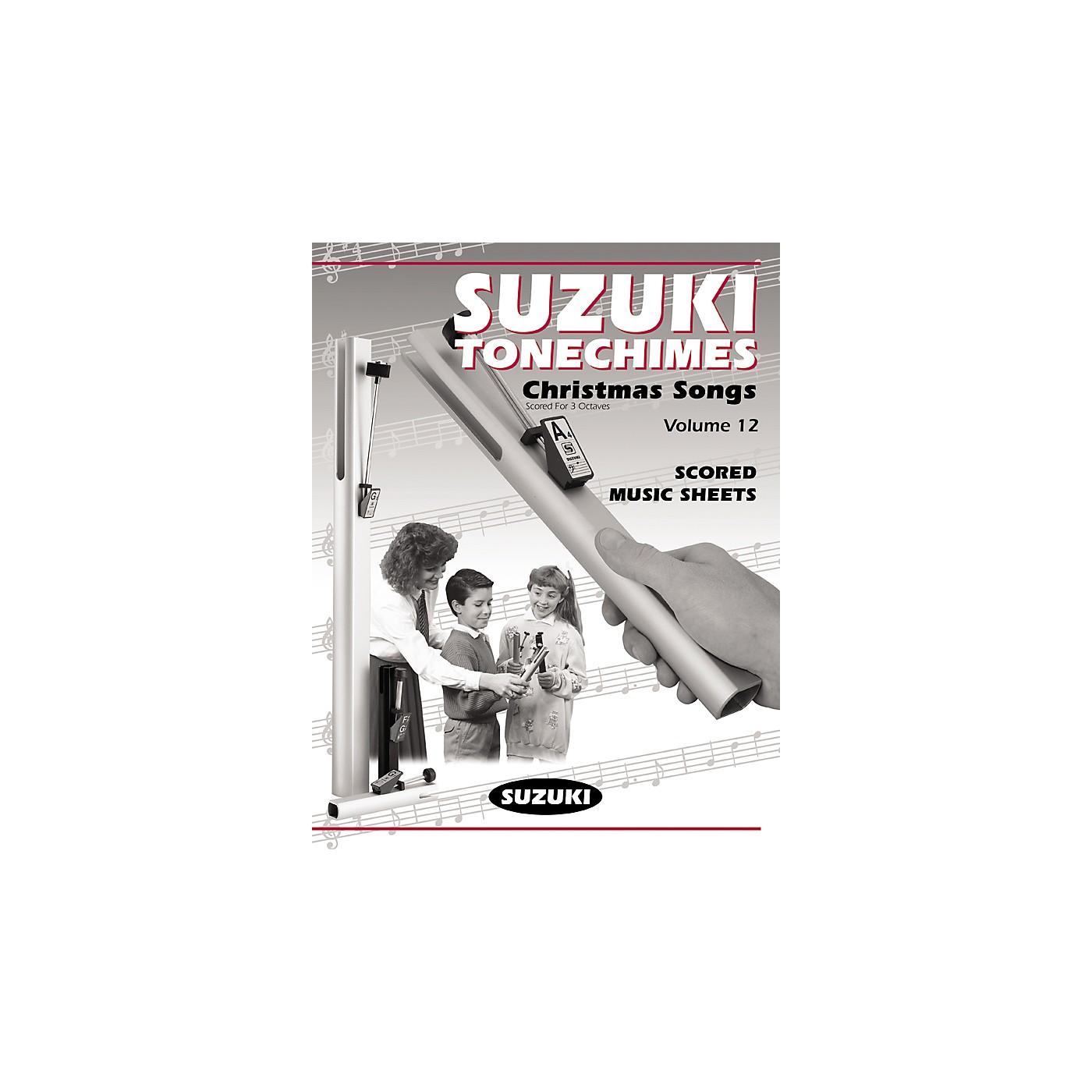 Suzuki Tonechime Arrangements 12 for Handbells Book thumbnail