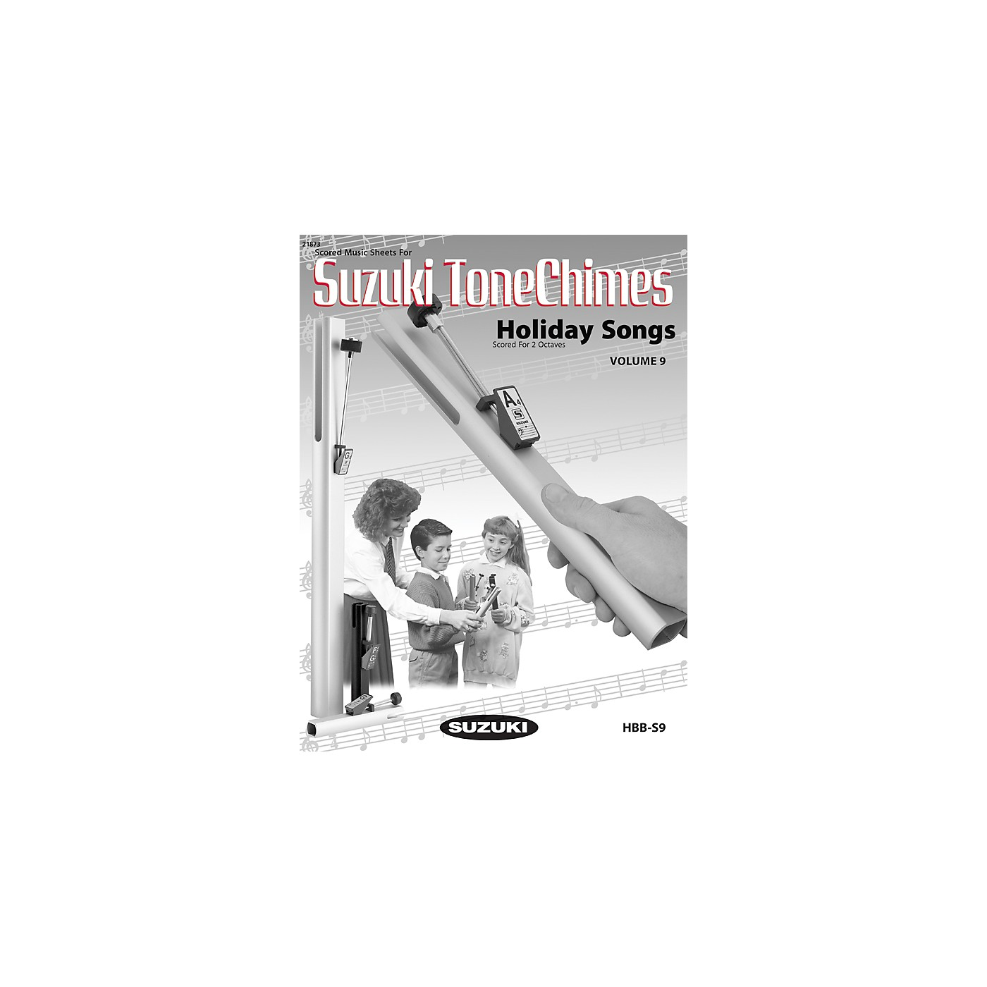 Suzuki Tonechime Arrangements 9 for Handbells Book thumbnail