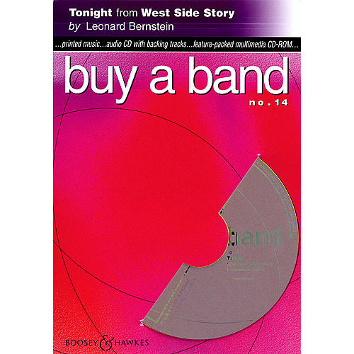 Hal Leonard Tonight (from West Side Story) (Buy a Band No. 14) Instrumental Series CD-ROM thumbnail