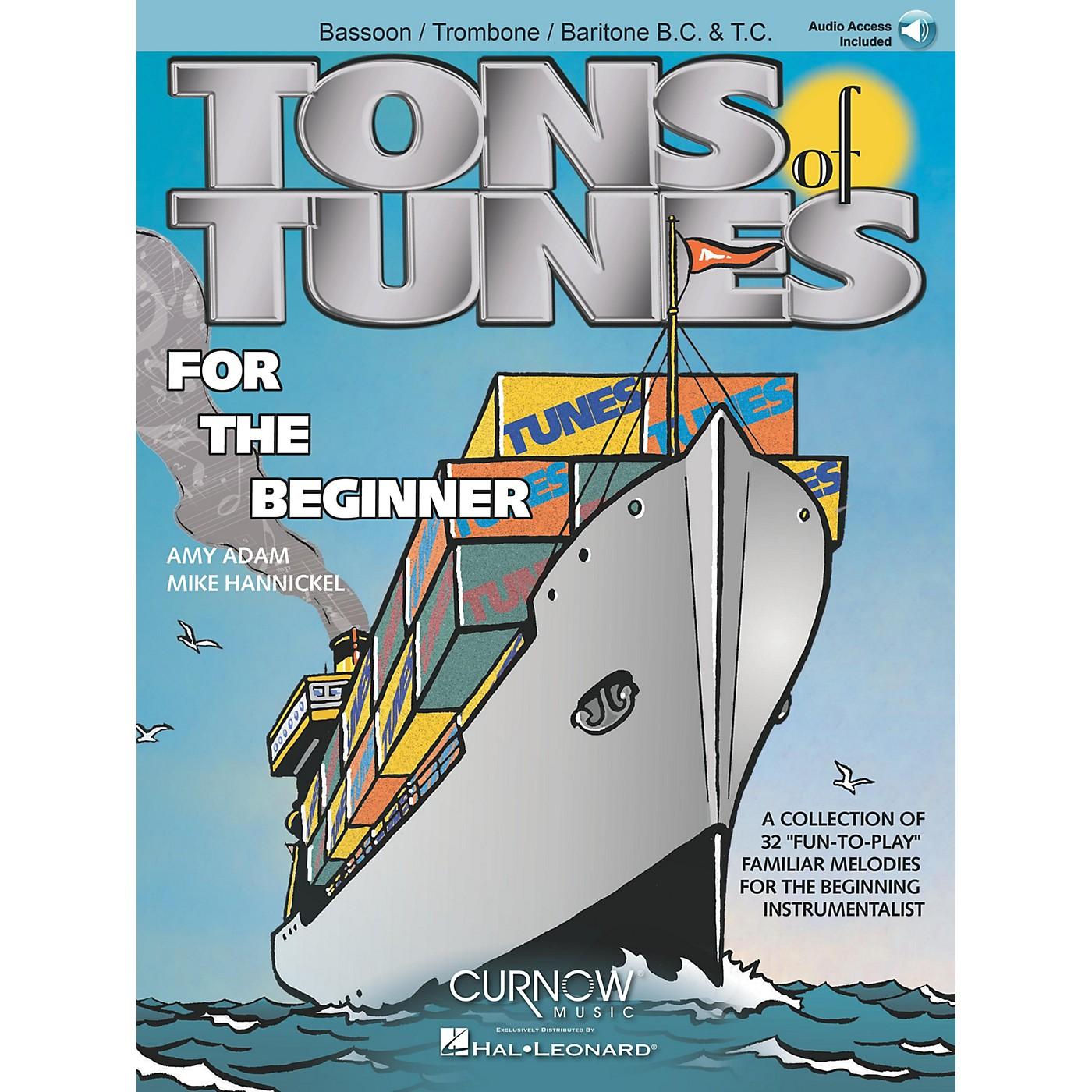 Curnow Music Tons of Tunes for the Beginner Concert Band Level .5 to 1 thumbnail