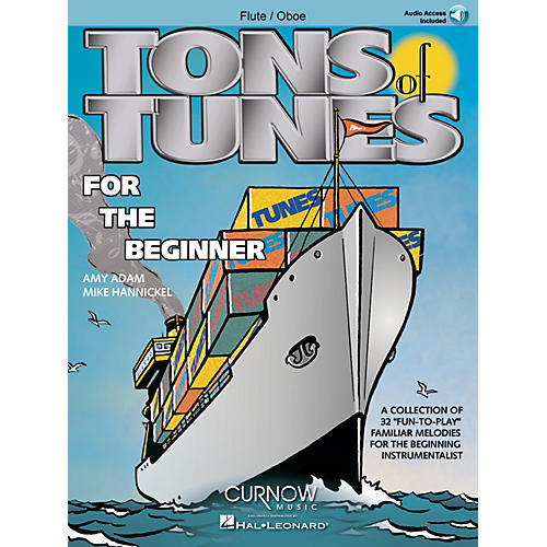 Curnow Music Tons of Tunes for the Beginner (Flute/Oboe/Violin - Grade 0.5 to 1) Concert Band Level .5 to 1 thumbnail