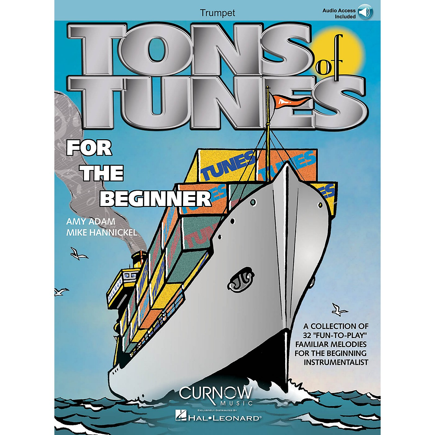 Curnow Music Tons of Tunes for the Beginner (Trumpet - Grade 0.5 to 1) Concert Band Level .5 to 1 thumbnail