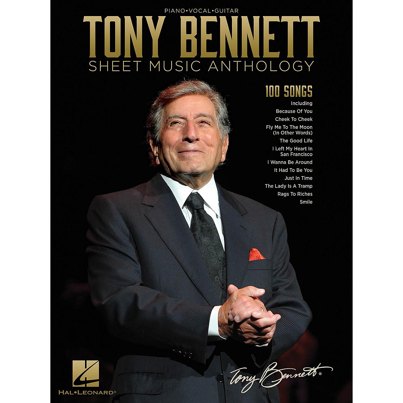 Hal Leonard Tony Bennett Sheet Music Anthology Piano/Vocal/Guitar Songbook thumbnail