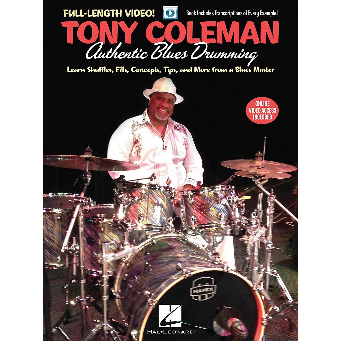 Hal Leonard Tony Coleman - Authentic Blues Drumming - Book/Online Video thumbnail