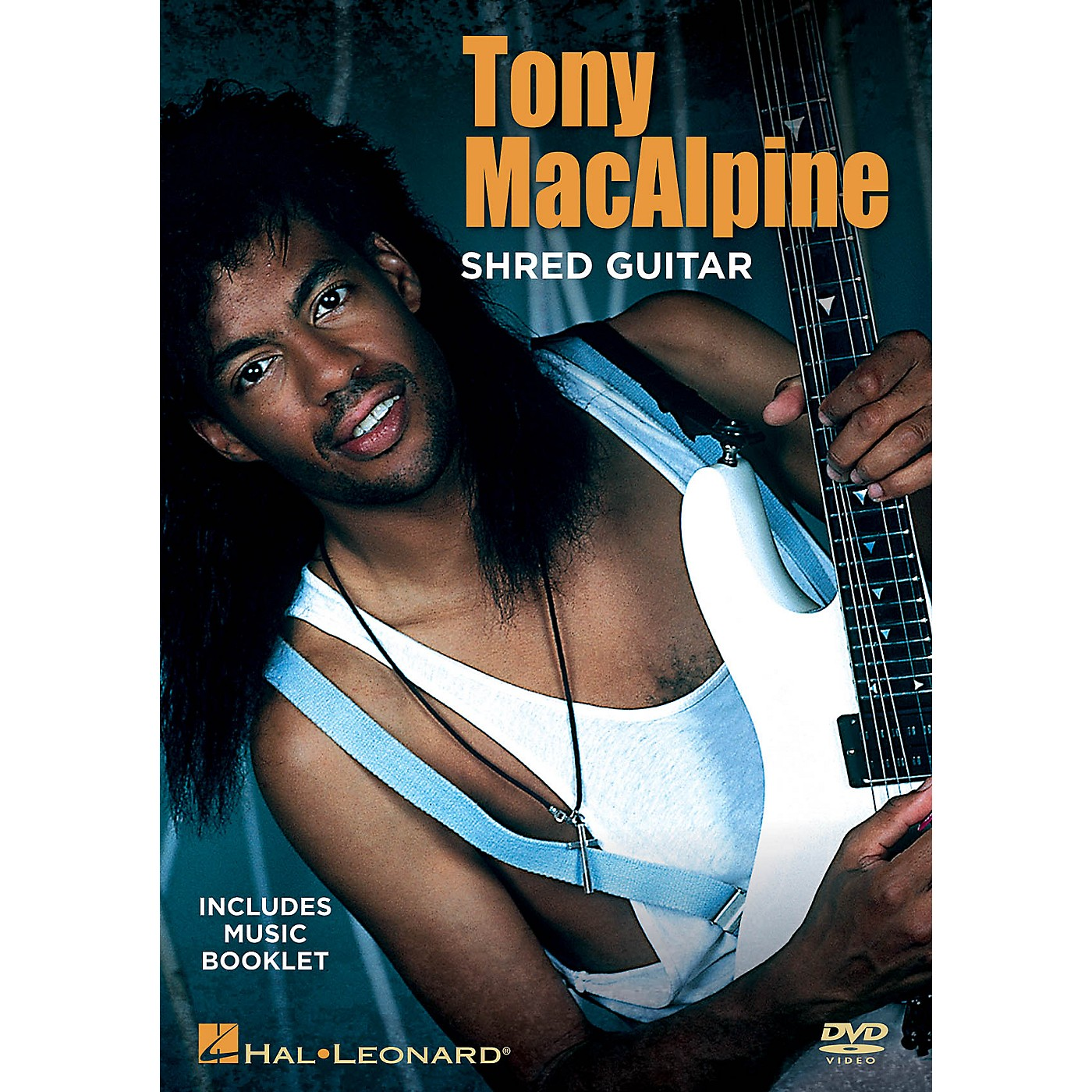Hal Leonard Tony MacAlpine - Shred Guitar DVD Series DVD Written by Tony MacAlpine thumbnail