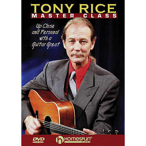 Homespun Tony Rice Master Class: Up Close and Personal with a Guitar Great (DVD) thumbnail