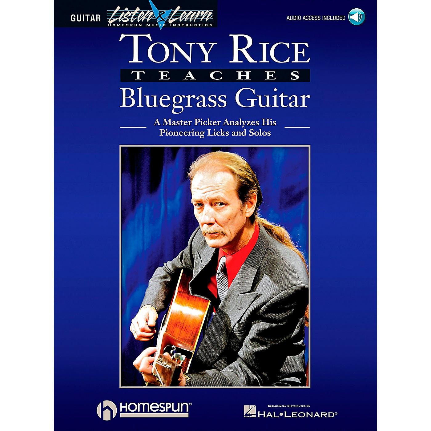 Hal Leonard Tony Rice Teaches Bluegrass Book/CD Package thumbnail