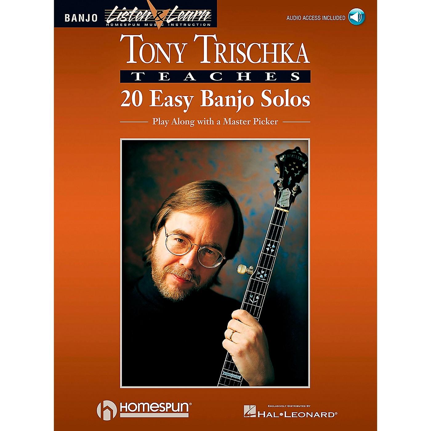 Homespun Tony Trischka Easy Banjo Solos CD/Pkg Listen & Learn thumbnail