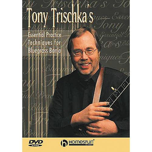 Homespun Tony Trischka's Essential Bluegrass Banjo DVD thumbnail