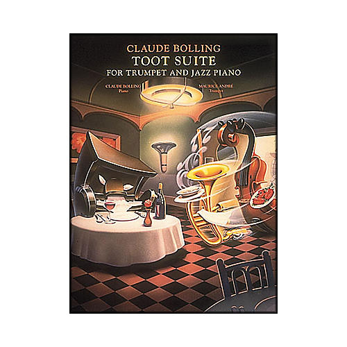 Hal Leonard Toot Suite for Trumpet And Jazz Piano Trio-thumbnail