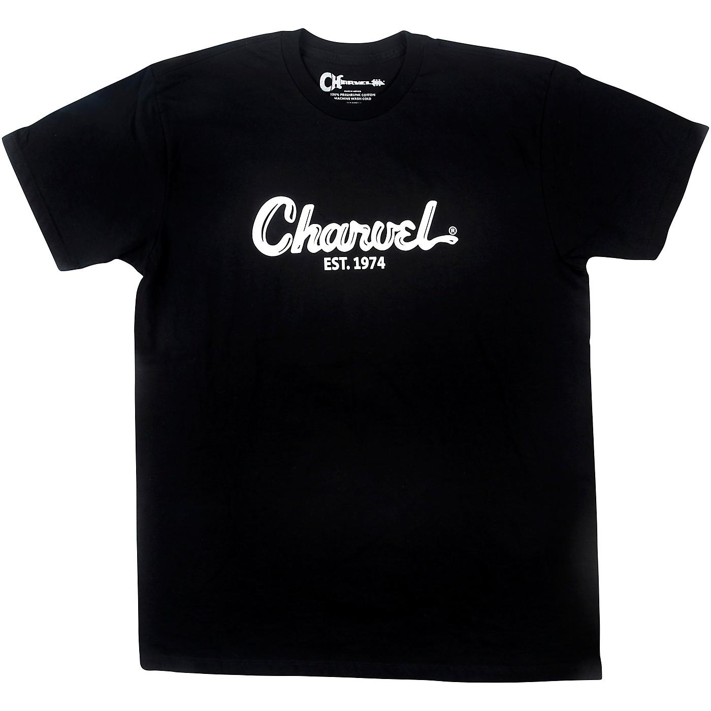 Charvel Toothpaste Logo Black T-Shirt thumbnail