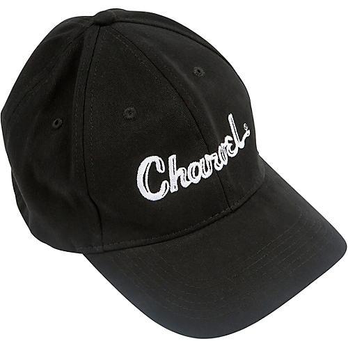 Charvel Toothpaste Logo Flexfit Hat - Black thumbnail