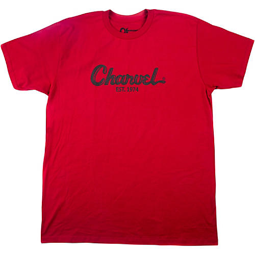 Charvel Toothpaste Logo Red T-Shirt thumbnail