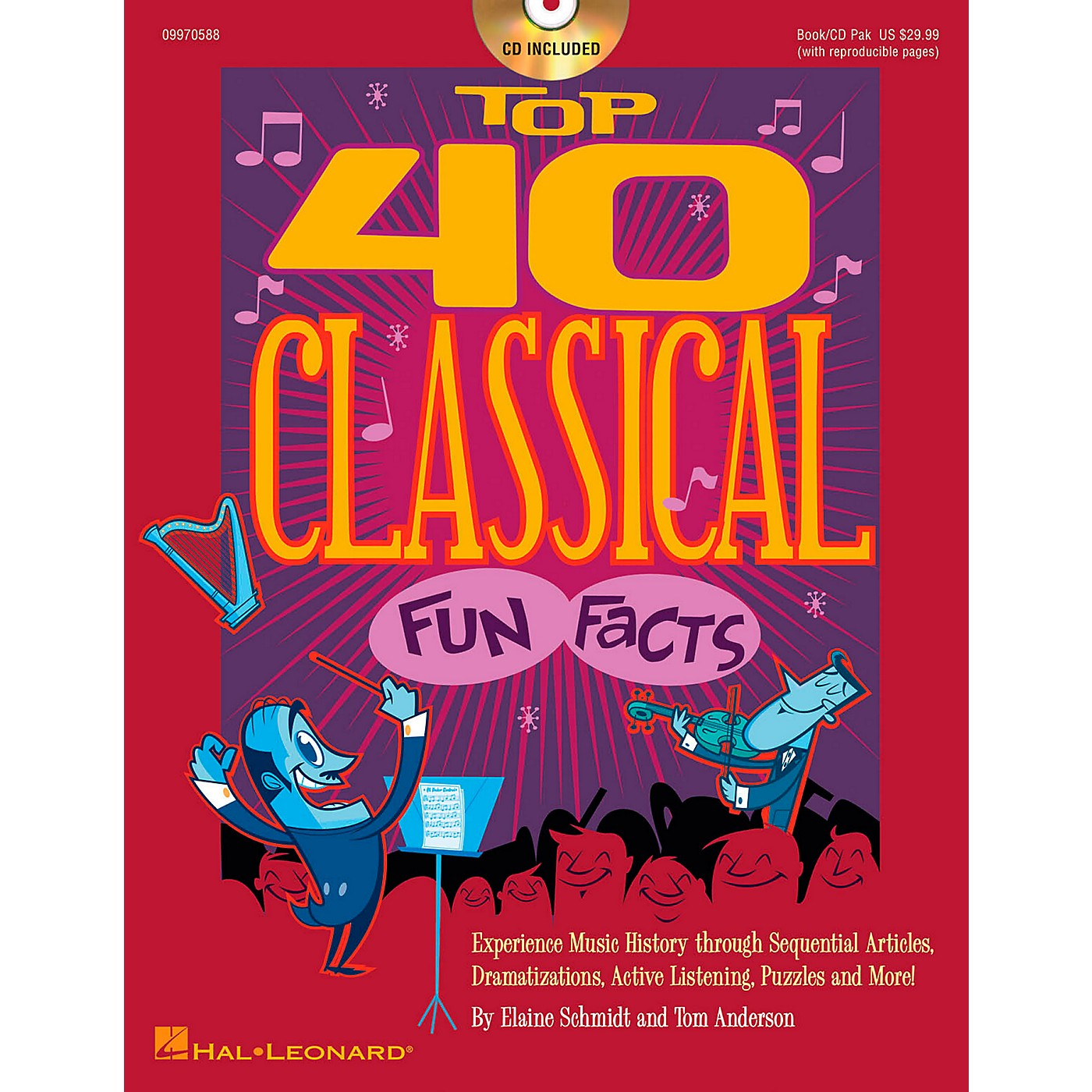 Hal Leonard Top 40 Classical Fun Facts Book/CD thumbnail