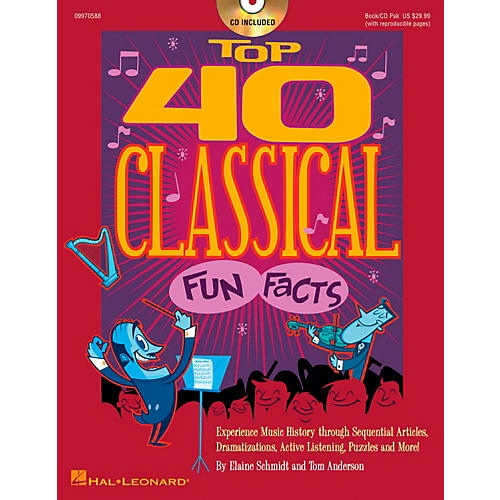 Hal Leonard Top 40 Classical Fun Facts Book/CD thumbnail