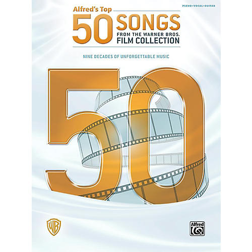 Alfred Top 50 Songs from the Warner Bros. Film Collection Piano/Vocal/Guitar Songbook thumbnail