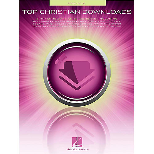 Hal Leonard Top Christian Downloads for Piano Solo thumbnail