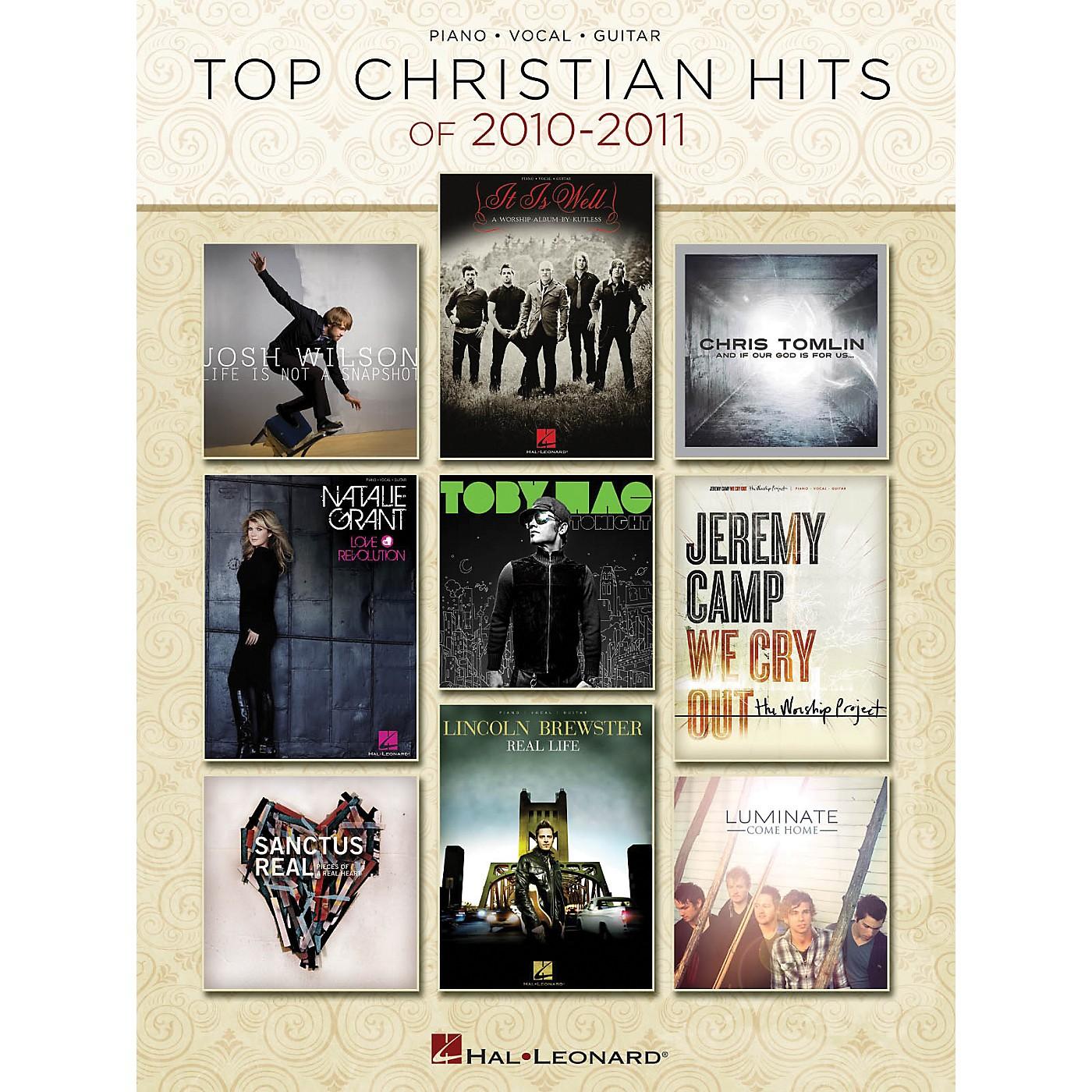 Hal Leonard Top Christian Hits Of 2010-2011 PVG Songbook thumbnail