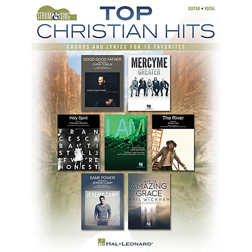 Hal Leonard Top Christian Hits Strum and Sing Series Softcover Performed by Various thumbnail