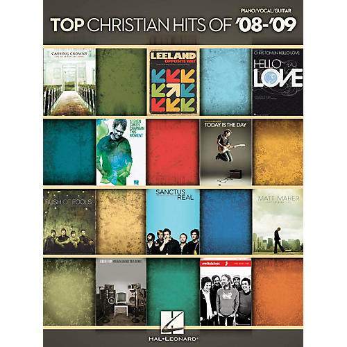 Hal Leonard Top Christian Hits of '08-'09 - Piano, Vocals, Guitar Songbook thumbnail