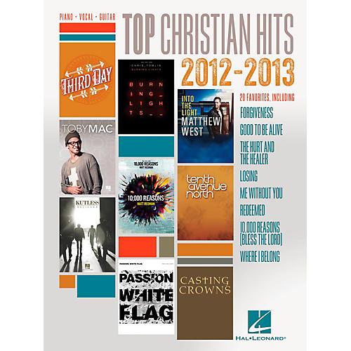 Hal Leonard Top Christian Hits of 2012-2013 for Piano/Vocal/Guitar PVG thumbnail