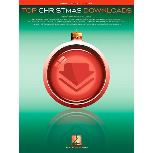 Hal Leonard Top Christmas Downloads for Piano/Vocal/Guitar (P/V/G) thumbnail