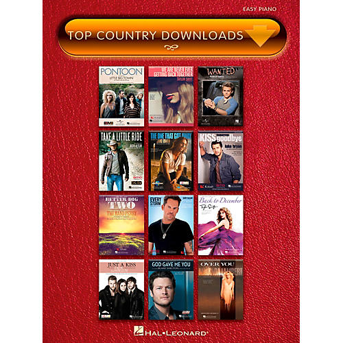 Hal Leonard Top Country Downloads for Easy Piano thumbnail