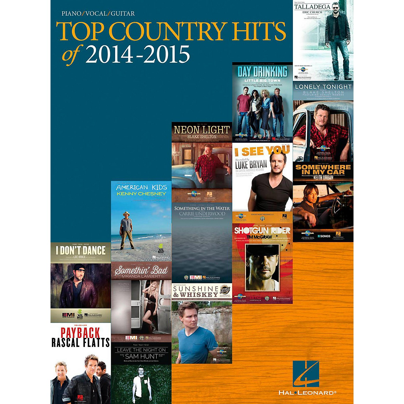 Hal Leonard Top Country Hits Of 2014-2015 for Piano/Vocal/Guitar thumbnail