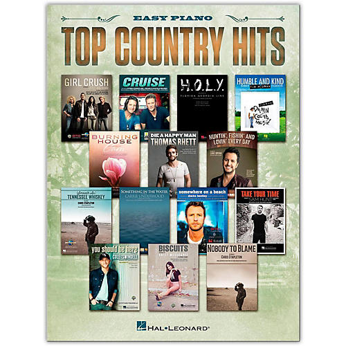 Hal Leonard Top Country Hits for Easy Piano thumbnail