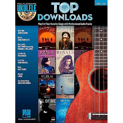 Hal Leonard Top Downloads - Ukulele Play-Along Series Vol. 32 Book/CD thumbnail