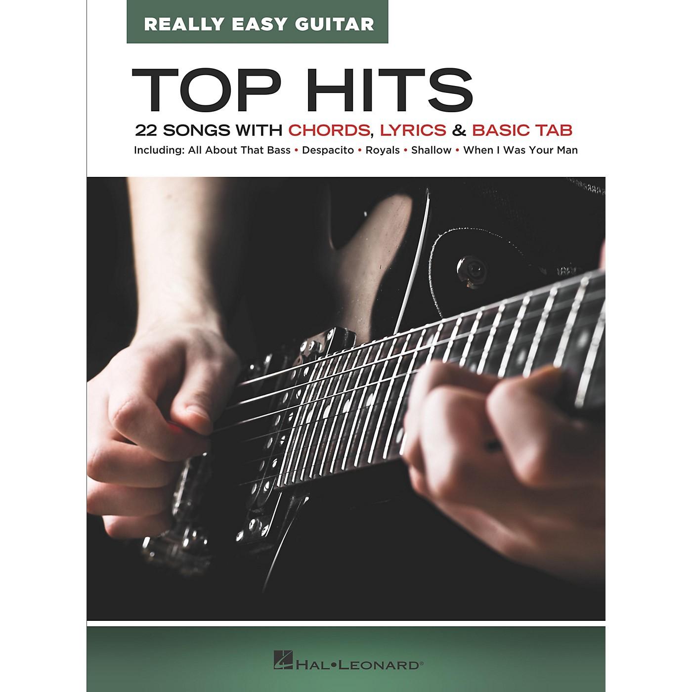 Hal Leonard Top Hits - Really Easy Guitar Songbook thumbnail
