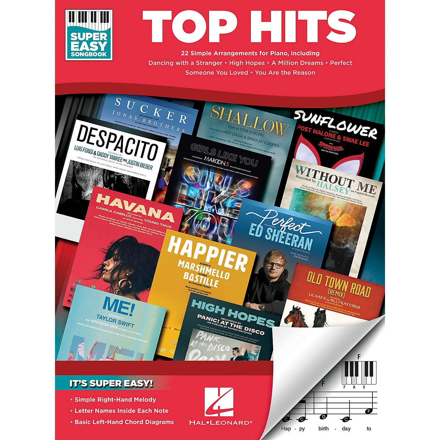 Hal Leonard Top Hits - Super Easy Songbook thumbnail