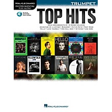 Hal Leonard Top Hits For Trumpet - Instrumental Play-Along Book/Online Audio