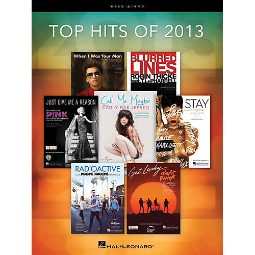 Hal Leonard Top Hits Of 2013 for Easy Piano thumbnail