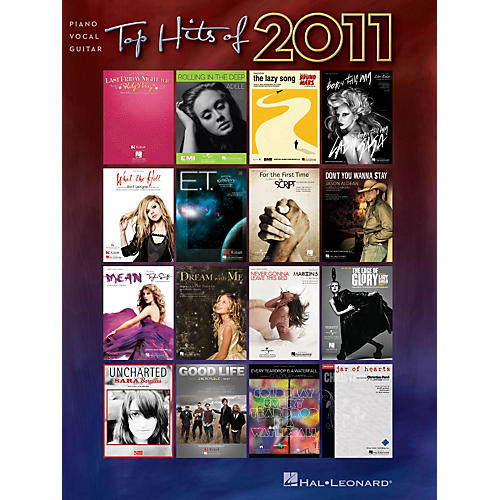 Hal Leonard Top Hits of 2011 Piano/Vocal/Guitar Songbook thumbnail