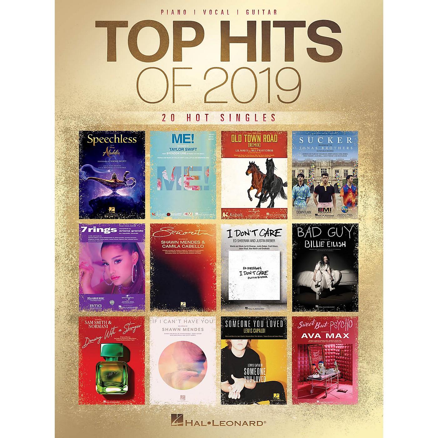 Hal Leonard Top Hits of 2019 Piano/Vocal/Guitar Songbook thumbnail