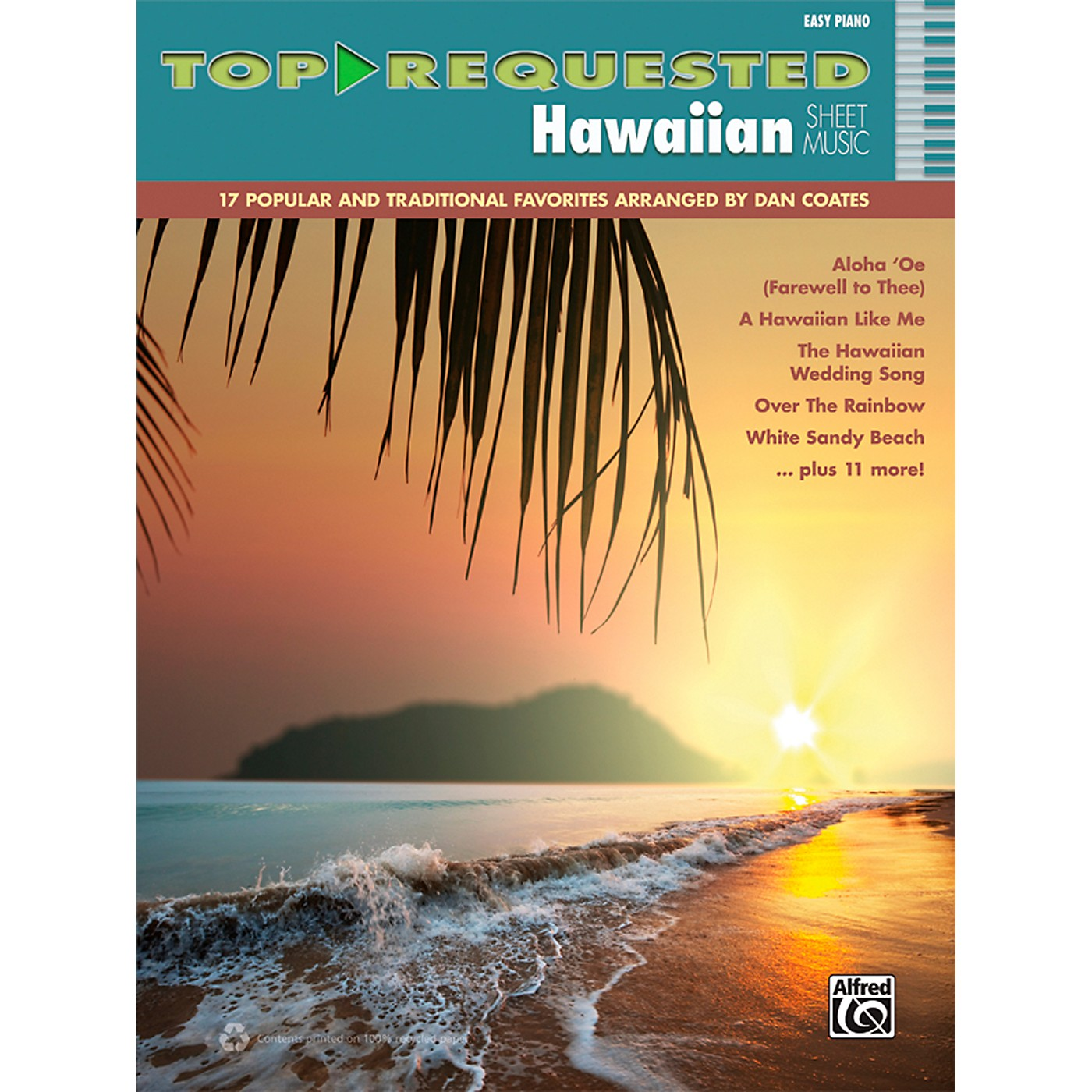 Alfred Top-Requested Hawaiian Sheet Music Easy Piano thumbnail
