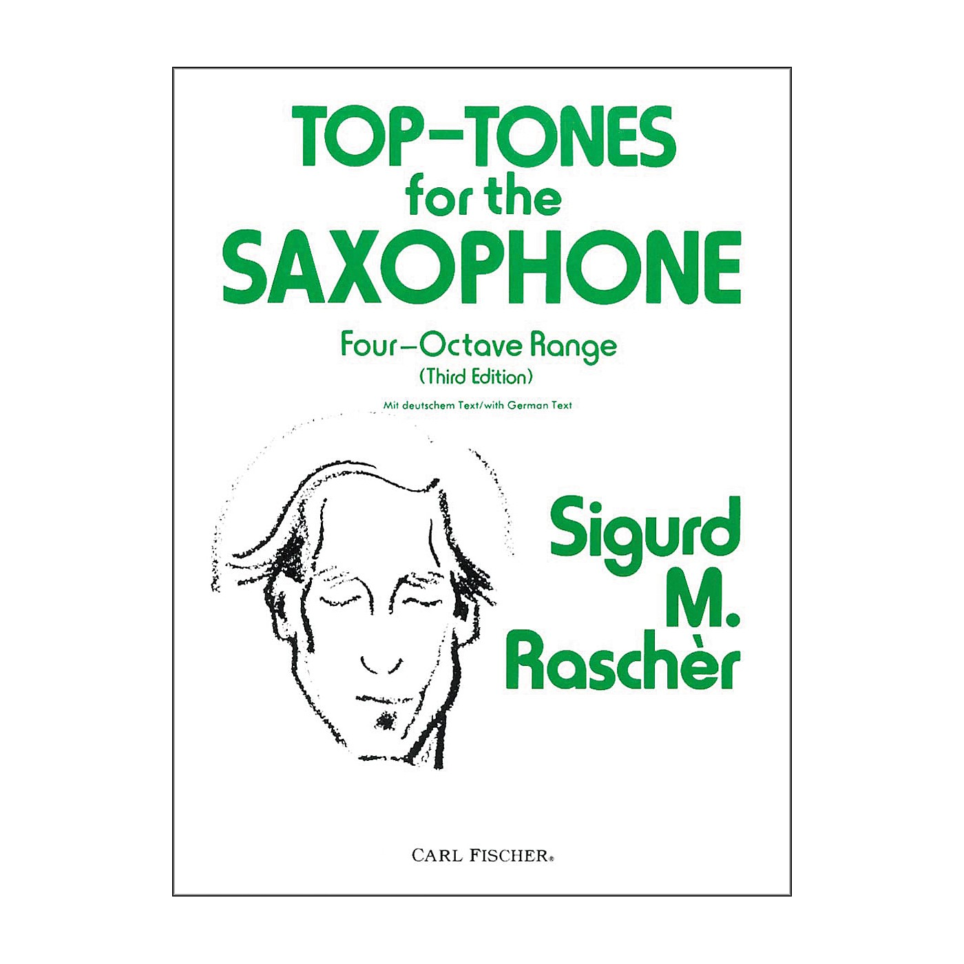 Carl Fischer Top-Tones For The Saxophone thumbnail
