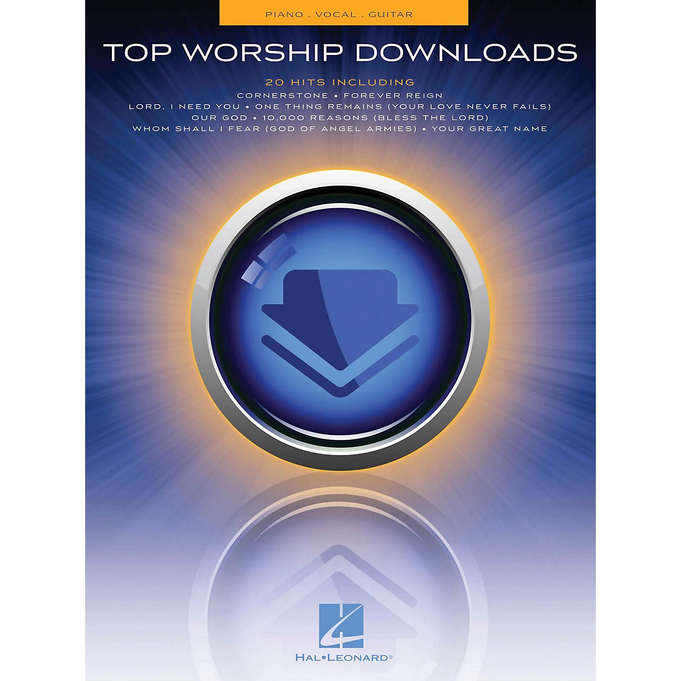 Hal Leonard Top Worship Downloads Piano/Vocal/Guitar (PVG) thumbnail