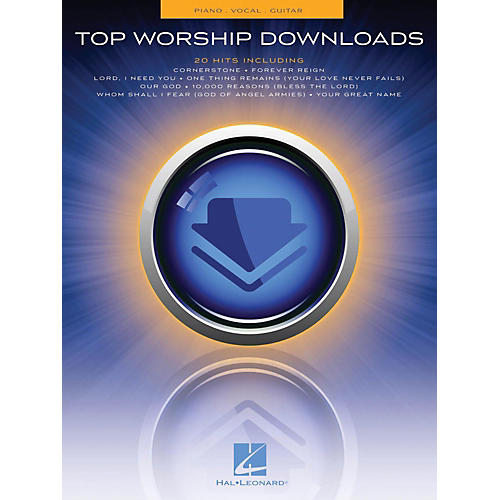 Hal Leonard Top Worship Downloads Piano/Vocal/Guitar (PVG) thumbnail