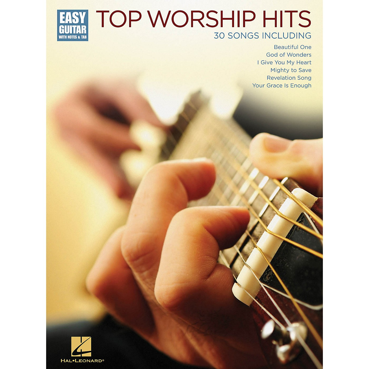 Hal Leonard Top Worship Hits (Easy Guitar with Notes & Tab) Easy Guitar Series Softcover Performed by Various thumbnail
