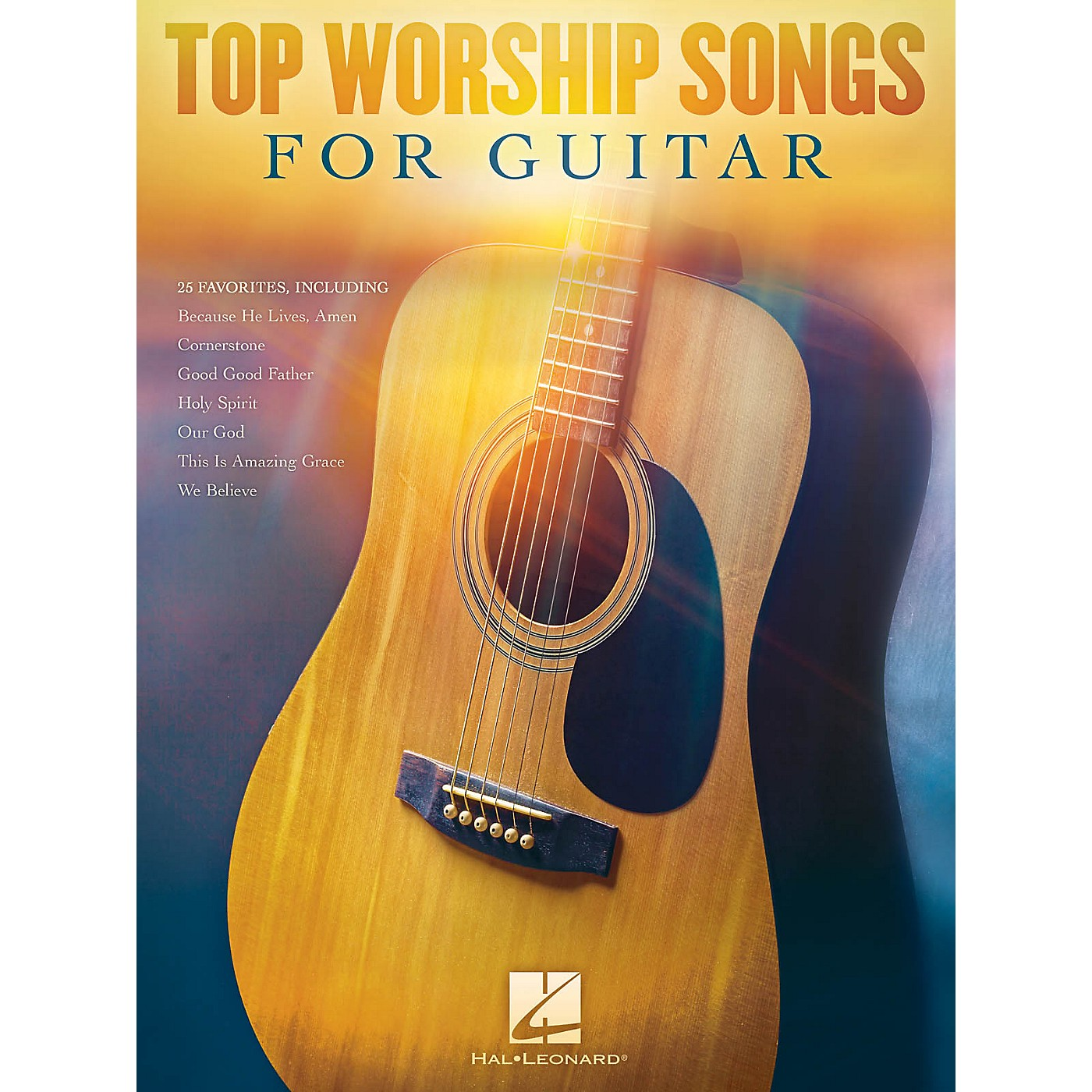 Hal Leonard Top Worship Songs for Guitar Guitar Collection Series Softcover Performed by Various thumbnail
